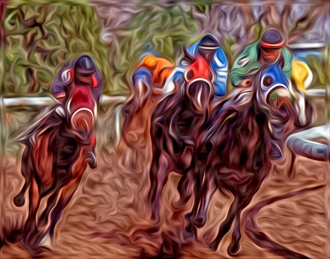 HorseRace-Speed Demons-OP-8x10-96