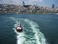 Cruise ship leaving Toulon ,France.
