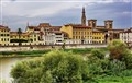 along arno river