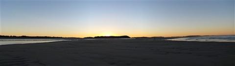 Crane Beach at dusk 07