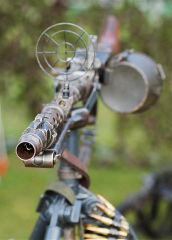 At a Gun Point!