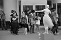 "Street performer ""living statue"""