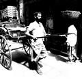 Rickshaw puller - INDIA