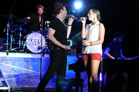 Colbie Caillat and Gavin DeGraw at Red Butte 2012