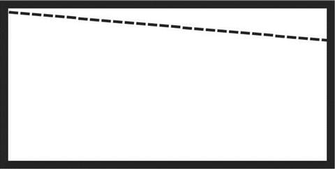 stretcher bar angle
