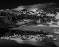 Mount Rainier in Monotone