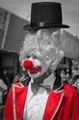 Clowning around-
