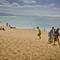 Beachgoers, North Shore