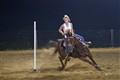 At the Quarterhorse barrel race