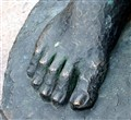 Giant Bronze Foot
