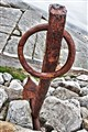 Rusty Anchor at Peggy's Cove, Nova Scotia