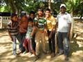 "A ""pickup"" Cricket team in Vellore, Tamil Nadu, India"
