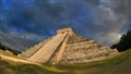 Stairs to the Mayan Gods