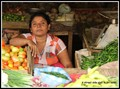 Vegetable seller in Dumbulla