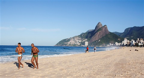 Two boys from Ipanema