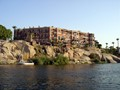 The famous hotel on the Elephantine island at Aswan of Egypt.