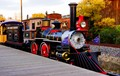 train engine Port Aventura