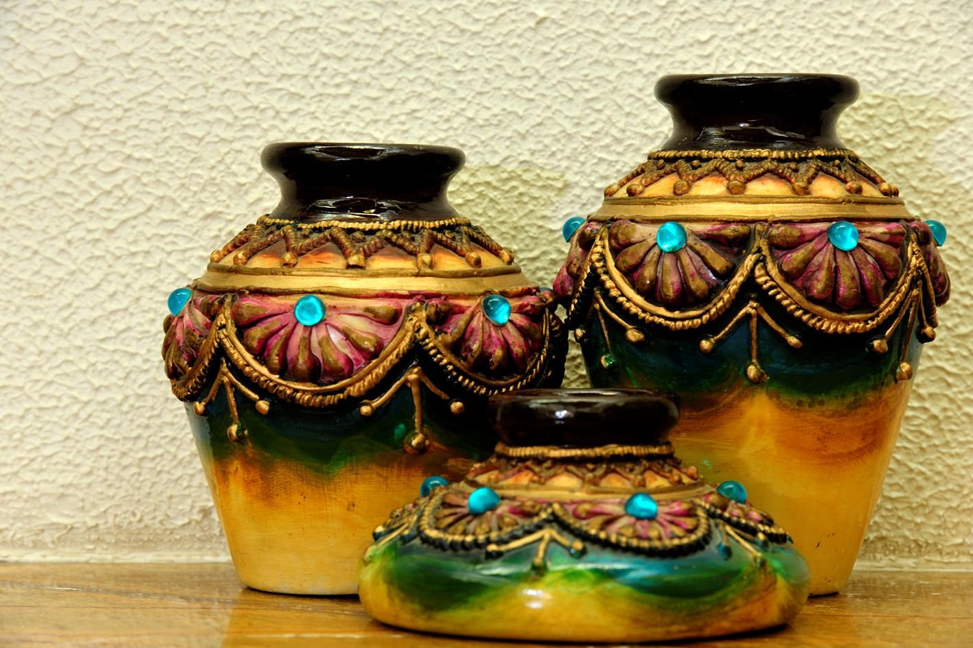 lagos affordable piece decorative collections buy pot white for modern plants planters gold parcel decor pots online