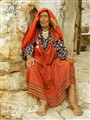 Old woman in Tunisie