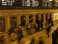 Kiss at Grand Central Terminal