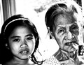 Alicia Dalisay and her Grandmother Alicia (R.I.P.) - Two Generations and 86 Years Apart
