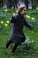 Dashing through the daffodils