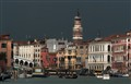 Dark sky on Venice