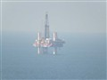 An Oil Drilling rig in Persian Gulf