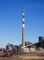 Chimney at Selebi-Phikwe Copper plant Botswana
