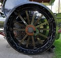 Steam Traction Engine Wheel