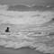 Surfer at Narragansett