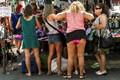 Street bikini market