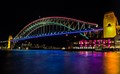 VIVID! Sydney Harbour Bridge