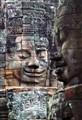 Stone Faces of Bodhisattva Lokesvara