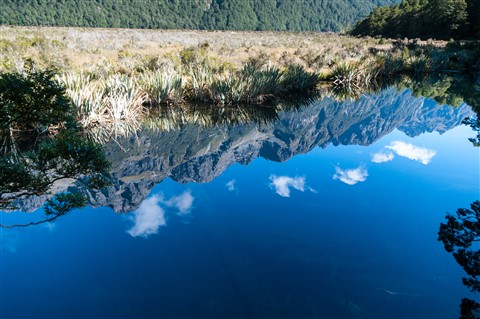 Mirror Lakes New Zealand Sth island