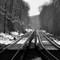 Train tracks, New York