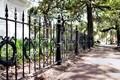 Memorial Wrought Iron Fence