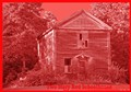 Little Two Story Red Schoolhouse