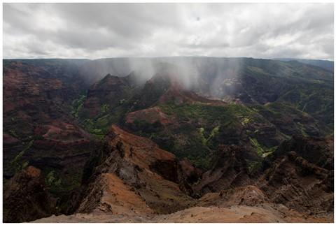 Kauai, HI Canyon