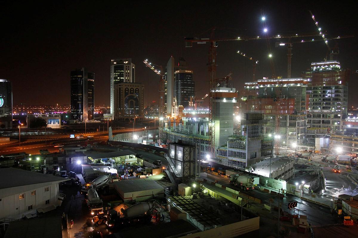 Construction Site At Night Karim El Baradei Galleries Digital Photography Review Digital