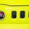 Yellow Fiat Uno: