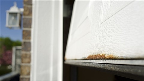 Rust on Garage Door 2