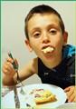 Starving grandson