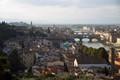 The Arno river with the Ponte Vecchio