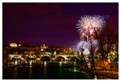 Fireworks on Charles Bridge