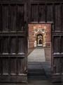 The Great Gate, St John's College, Cambridge, England.