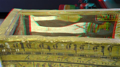 Amon Priesters Mummy-coffins 3D