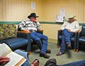 Cowboys in my Doctor's Waiting Room