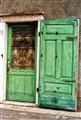 green green door