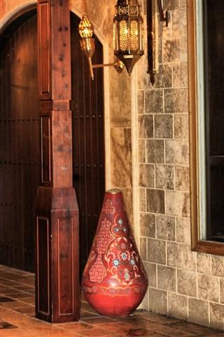 Indoor traditional decoration